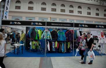 """По следам """"Московского Лыжного Салона 2011 / Ski Build Expo"""": стандартные стенды + оклейка: новые возможности"""